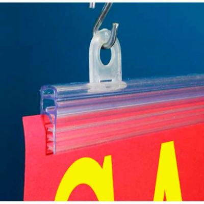 "Galactic Grip-Tite™ Banner Hanger, 48""L, Clear - Pkg Qty 100"
