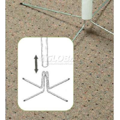 """Wire Pole Feet Pole, 13/16"""" I.D. - Pkg Qty 50"""