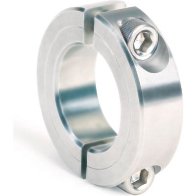 """Two-Piece Clamping Collar, 2-13/16"""", Zinc Plated Steel"""
