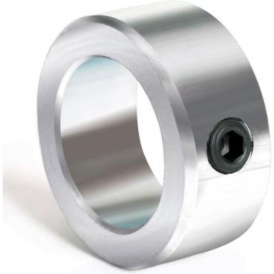 "Set Screw Collar, 1"", Zinc Plated Steel"