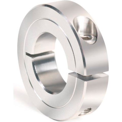 """One-Piece Clamping Collar Recessed Screw, 1-1/16"""", Stainless Steel"""