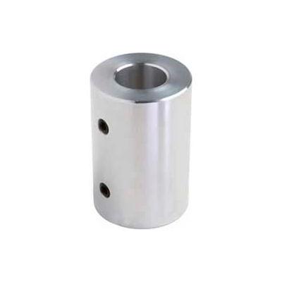 "Climax Metal, Set Screw Coupling, RC-031-A, RC Series, Aluminum, 5/16"" Bore, 5/8""OD"