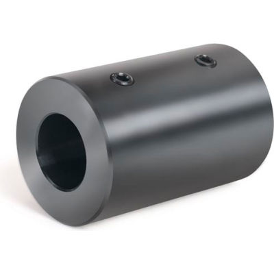 "Set Screw Coupling, 3/8"", Black Oxide Steel"
