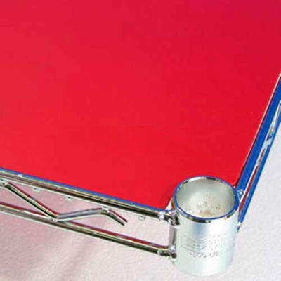 PVC Shelf Liners 14 x 30, Red (2 Pack)