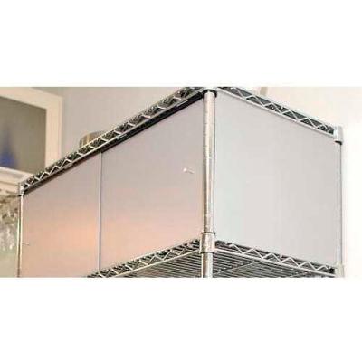 Enclosure Kit - Slide Door 24 x 48 x 13, Grey