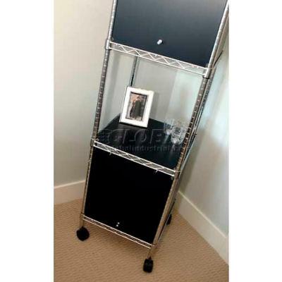 Enclosure Kit - Swing Door 18 x 18 x 18, Grey