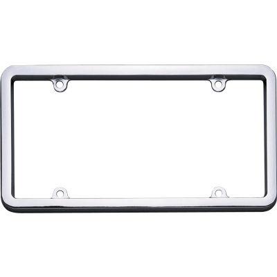 Cruiser Accessories Classic License Plate Frame, Chrome - 20130