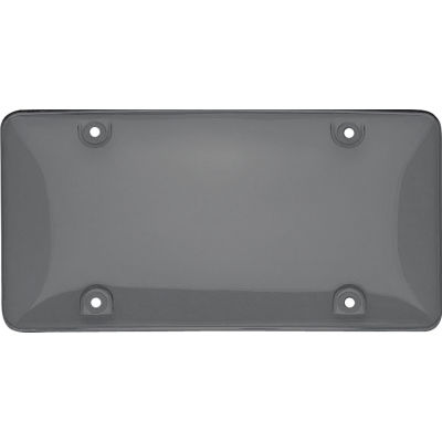 Cruiser Accessories Novelty Plate Bubble Shield, Smoke - 72200