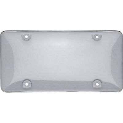 Cruiser Accessories Novelty Plate Tuf Bubble Shield, Clear - 73100