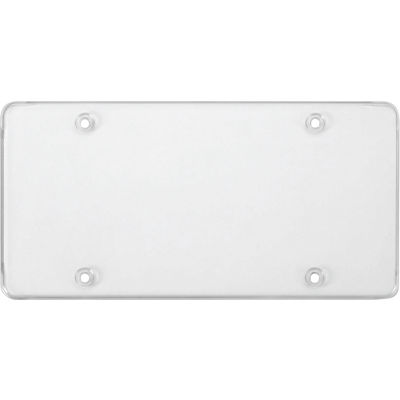 Cruiser Accessories Novelty Plate Tuf Flat Shield, Clear - 76100