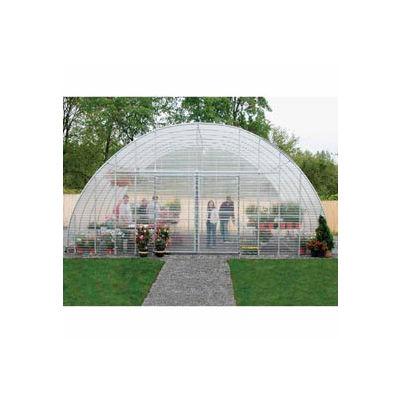 Clear View Greenhouse Kit 30'W x 12'H x 48'L - Natural Gas