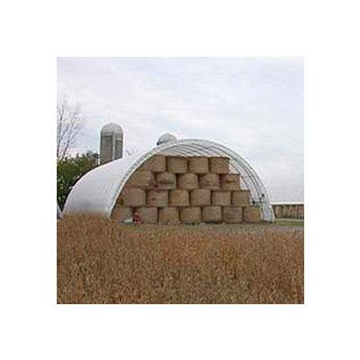 Econoline Storage Building 20'W x 12'H x 25'L White Freestanding
