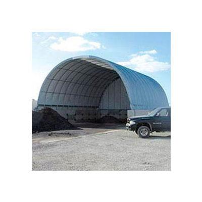 Econoline Storage Building 20'W x 12'H x 25'L White Pony Wall
