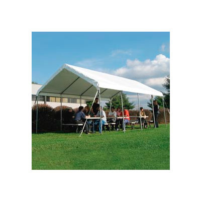 WeatherShield Commercial Canopy 14'W x 20'L White