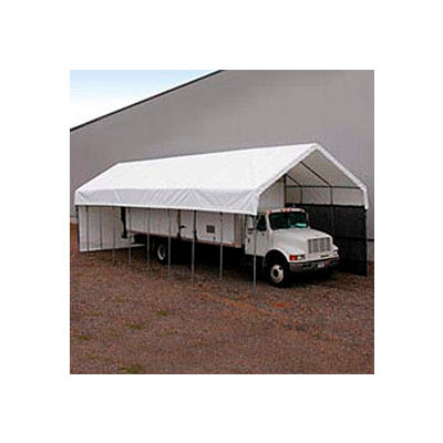 Daddy Long Legs Canopy 1470RV10W10, 14'W x 70'L, White
