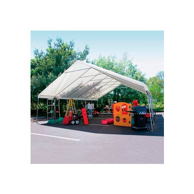 WeatherShield Giant Commercial Canopy 24'W x 20'L Tan