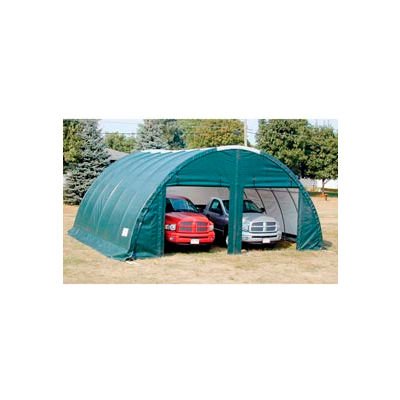 Storage Master Classic Plus Garage - 26'W x 12'H x 28'L Green