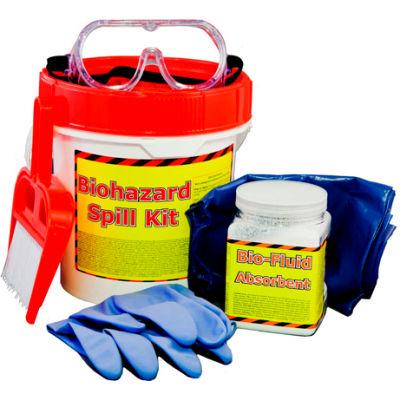 Spill Wizards Biohazard Safety Spill Kit, 5500-001