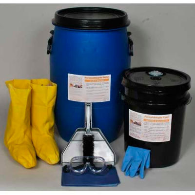 Formaldehyde Eater Safety Spill Kit, 15-Gallons, Clift Industries, 6901-015