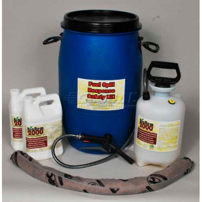 BioRem-2000 Fuel Spill Safety Response Kit, 15-Gallons, Clift Industries, 8809-015