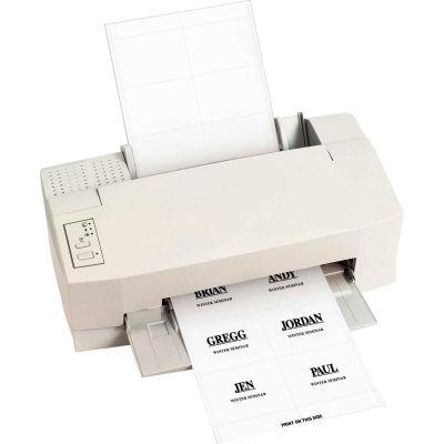 C-Line Products Laser Printer Name Badge Inserts, 6/Sheet, 4 x 3, 60/PK (Set of 5 PK)
