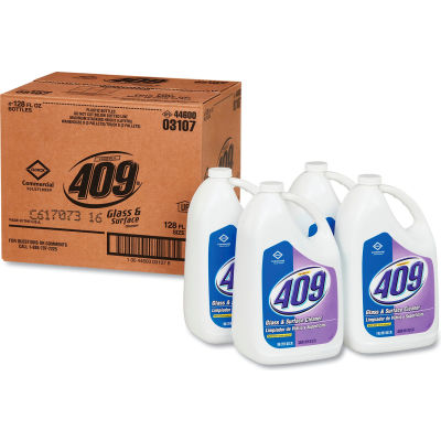 Formula 409 Glass & Surface Cleaner, Gallon Bottle, 4 Bottles - 03107