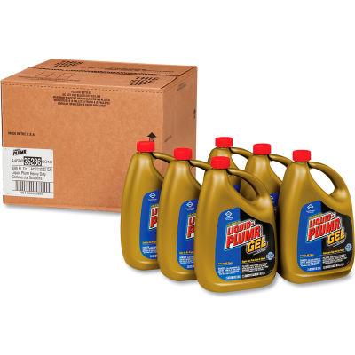Liquid-Plumr®Heavy-Duty Clog Remover, 2-1/2 Quart Bottle, 6 Bottles - 35286