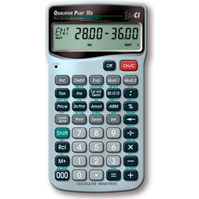 Qualifier Plus IIIx - Advanced Residential Real Estate Finance calculator