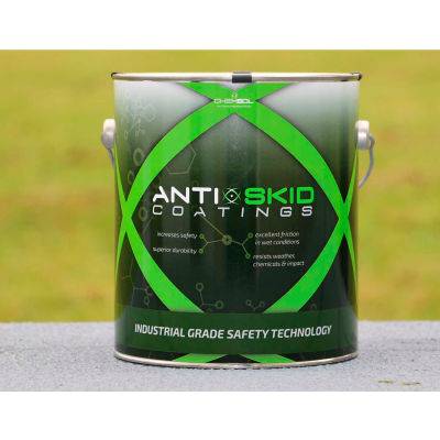 Chemsol 2500 Nonslip Coating, Extremely Durable Antislip Paint, 1/2 Gal. Beige - 2500-BE-HG