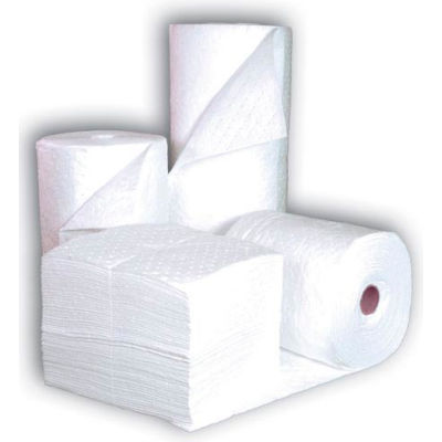 """Chemtex BR6W Absorbent Roll, Oil Only, 30"""" x 300', Single Weight, Bonded Meltblown"""