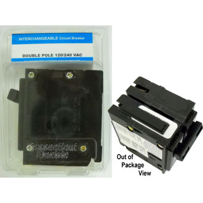 """Siemens® VPKICBQ230 Interchangeable 2"""" Circuit Breaker 2-Pole 30A Clamshell Packaged"""