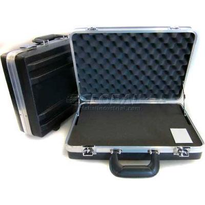 "CH Ellis Chicago Case VFC5F, Foam-Filled Carrying Case, 19""L x 14-1/2""W x 6""H, Black"