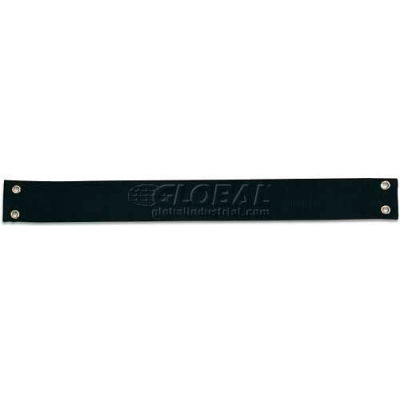Tray Stand Replacement Strap, for metal or Plastic stands, Black, 12/Pk.