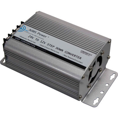 AIMS Power 60 Amp 24V to 12V DC-DC Converter, CON60A2412