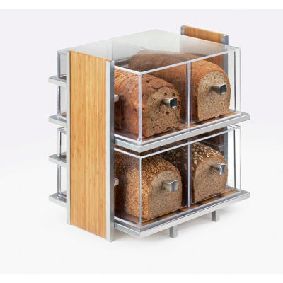 "Cal-Mil 1279 Eco Modern Bread Case 14""W x 11-1/2""D x 15""H"