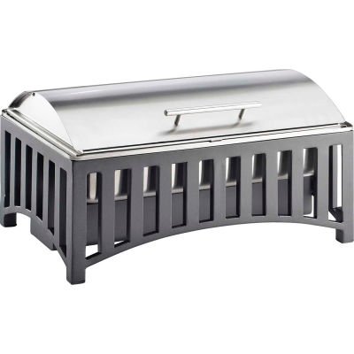 """Cal-Mil 1368-13 Mission Chafer with Cover 21-3/4""""W x 13-3/4""""D x 8-1/2""""H"""