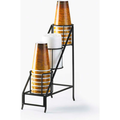 "Cal-Mil 1452 Iron Cup and Lid Display 5""W x 12""D x 15""H"