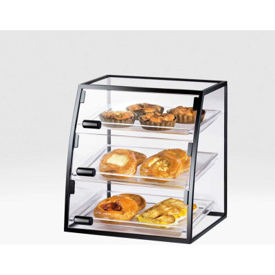 "Cal-Mil 1708-1318 Curved Iron Display Case 18""W x 16""D x 21""H"