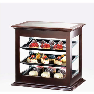 """Cal-Mil 284-60 Bamboo Bakery Display Case 21""""W x 16-1/4""""D x 22-1/2""""H"""