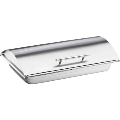 """Cal-Mil 3325-55 Stainless Steel Chafer Cover 21""""W x 13""""D x 2-1/2""""H"""