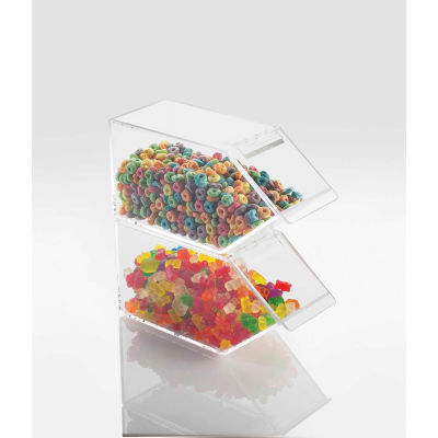 """Cal-Mil 492 Classic Stackable Topping Dispenser 4-1/2""""W x 11""""D x 5-1/2""""H - Pkg Qty 2"""