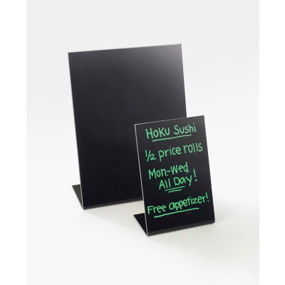 """Cal-Mil 950-13 Classic Write-on Easel 5""""W x 7""""H - Pkg Qty 6"""