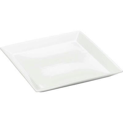 """Cal-Mil PP252 Large Porcelain Square Platter 11""""W x 11""""D - Pkg Qty 3"""
