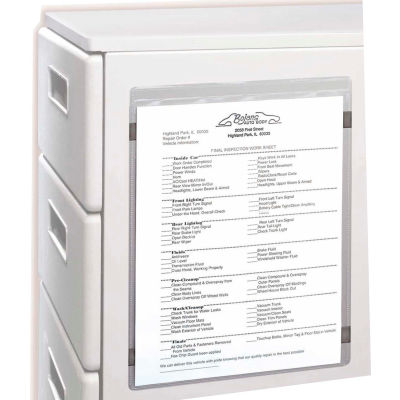 C-Line Products Magnetic Shop Ticket Holder, 8 1/2 x 11, 15/BX