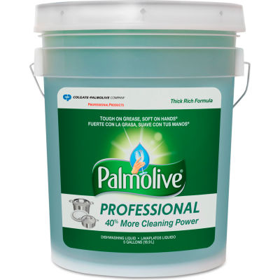 Palmolive® Professional Dishwashing Liquid, Original Scent, 5 Gallon Pail - 04917