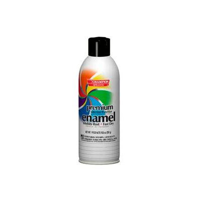 Champion Sprayon® Gloss Black Enamel 6 Cans/Case - 419-0921
