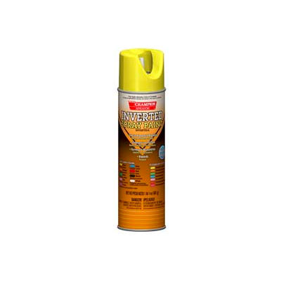 Champion Sprayon® Fluorescent Yellow Inverted Paint 12 Cans/Case - 419-4803