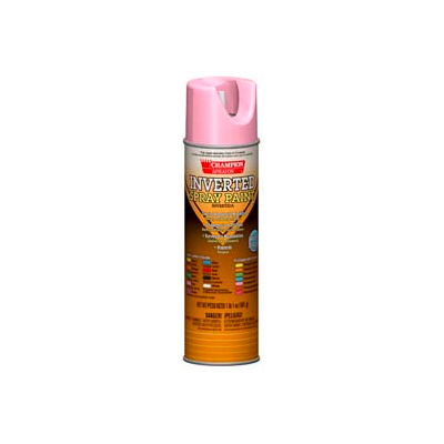 Champion Sprayon® Fluorescent Pink Inverted Paint 12 Cans/Case - 419-4809