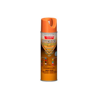 Champion Sprayon® Fluorescent Orange Inverted Paint 12 Cans/Case - 419-4811