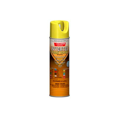 Champion Sprayon® APWA Yellow Inverted Paint 12 Cans/Case - 419-4850